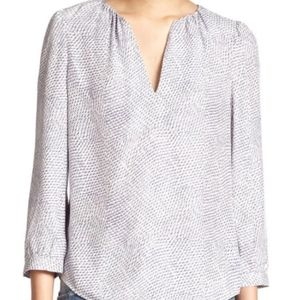 NWT Joie Pearline Silk Top